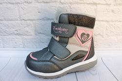 Термо обувь для девочки тм B&G, р. 27,28,29,30,31,32