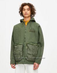 Куртки парки мужские Pull&Bear Испания два вида моделей