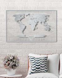 Карта мира Travel Map® AIR World прозрачная