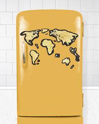 Скретч Карта Мира Travel Map® Magnetic World