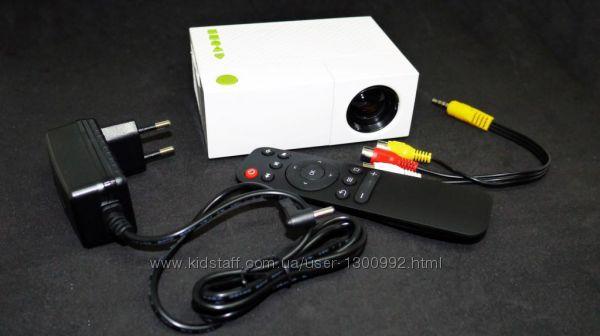 Мини проектор портативный мультимедийный Led Projector YG-310