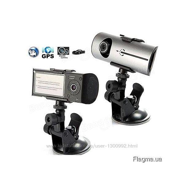 Видеорегистратор DVR R300 2 камеры