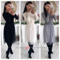 Платье 4 цвета