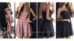 Красивое платье 2 цвета