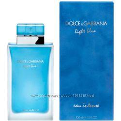 D&G Light Blue Eau Intense Pour Femme парфюмированная вода 50 мл