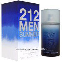 Carolina Herrera 212 Men Summer туалетная вода 100 мл