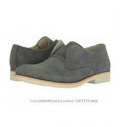 Демисезонные ботинки туфли Calvin Klein.  Размер 45 оригинал замша