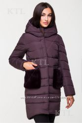 Зимнее пальто, женский пуховик, куртка.
