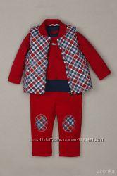 Джемпер брюки жилетка 86-92-98 Зіронька