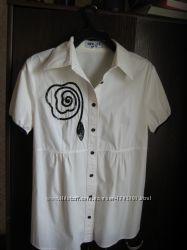 Изысканная блузка для будущей мамы new life mama. р-44 .