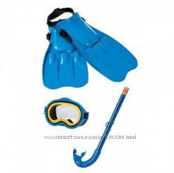 Набор для плавания ласты, маска для ныряния, трубка