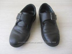 Школьные туфли Antilopa кожа для мальчика р. 34 бу