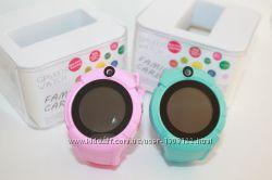 Детские умные часы Q 610 S с LED фонариком