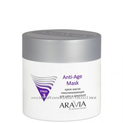 Крем-маску омолаживающую для шеи декольте Anti-Age Mask,  Aravia