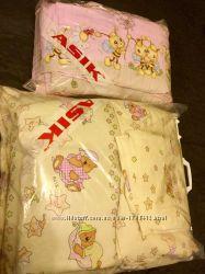 Комплект Asik защита карман одеяло подушка простынь и сменный комплект под