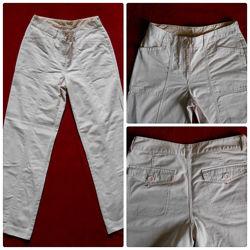 Лёгкие брюки для отдыха Next бледно-розовые р.10 -12