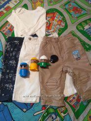Пакет вещей на мальчика 9-12 месяцев, 4 вещи