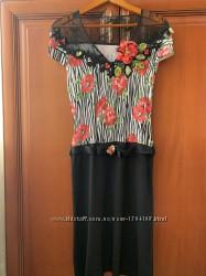 Платье SM 44р34-36 евро Philippe Carat Couture