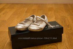 Белые нарядные туфельки для девочки 29р