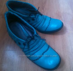 Стильные кожаные туфли трансформеры