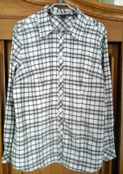 Стильная рубашка s. oliver разм. 44 eur
