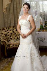 Свадебное платье итальянского дизайнера.