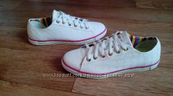 белые кеды adidas оригинал 24, 5- 25