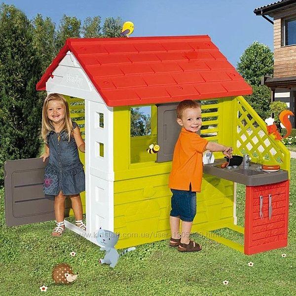 Домик с летней кухней Smoby