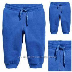 Штаны, размер 12-18 мес,  1, 5-2 года,  cotton,  разные цвета, H&M.