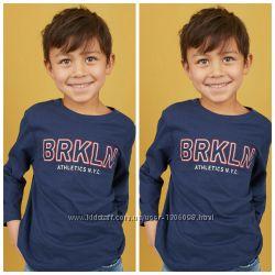 Реглан, размер 4-6,  8-10 лет,  хлопок,  для мальчиков,  H&M.