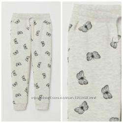 Штаны, размер 7-8, 8-9  лет,  джоггеры,  для девочек,  H&M.