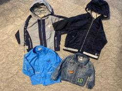 Демисезонная куртки ветровки, р 86-92