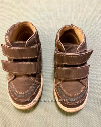 Замшевые мокасины кроссовки р 27