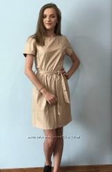 Плаття екокожа