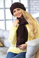 Комплект Фортуна берет и шарф