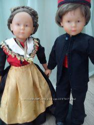 Кукла коллекционная , клеймо , пара