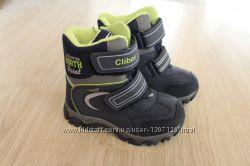 Зимние ботинки  Clibee для мальчика