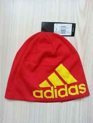 Демисезонная молодежная шапка Adidas Logo оригинал р.58-60
