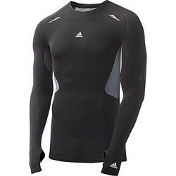 Тренинговая компрессионная футболка Adidas TechFit оригинал р. L-XL