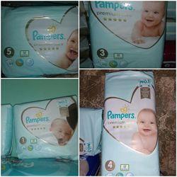 Подгузники памперсы Pampers Premium Care