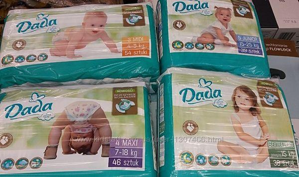 Подгузники памперсы Дада Экстра Софт Dada Extra soft
