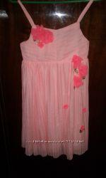 Нарядное платье сарафан прокат 8-9лет