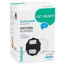 Лактационные вкладыши Natural Nursing 24 шт Черные BabyOno 29802