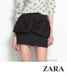 Чёрная юбка Zara, размер S
