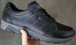 Lacoste Кроссовки туфли кожа большого размера гигант батал обувь кожаная