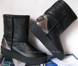 Marco зимние женские теплые угги сапоги ботинки уги взуття Ugg замша