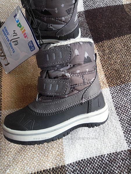 Ботинки зимние Lupilu