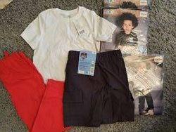 Пакет новой одежды на мальчика ростом 110-116 см Lupilu Pepperts