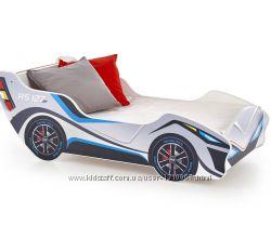 Кровать машина с матрасом