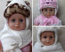Шапка и шарф зима Dembohouse
